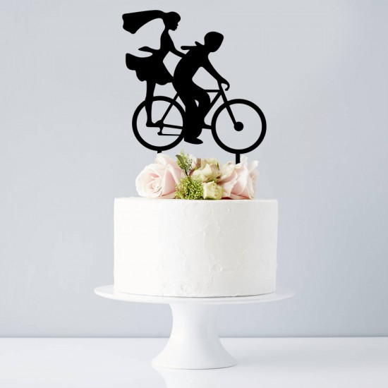 Cake Topper Bicicleta